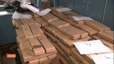 Polícia e Receita Federal fazem duas grandes apreensões de drogas em São Paulo - De janeiro a maio deste ano, foram apreendidas 40 toneladas de cocaína em todo o Brasil. Um aumento de quase 70% em comparação com o mesmo período do ano passado.