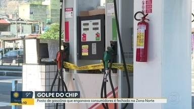 Posto de gasolina que engava consumidores é fechado na Zona Norte - 10% do que o motorista abastecia ficavam na bomba.