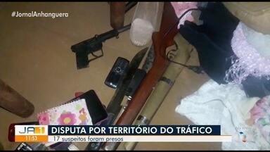 Operação Game Over prende oito suspeitos de homicídios e tráfico de drogas em Goiás - Polícia Civil disse que investigados fazem parte de duas organizações criminosas e foram cumpridos mandados em: Goiânia, Senador Canedo, Aparecida de Goiânia e Terezópolis.