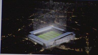 Santos apresenta anteprojeto de modernização da Vila Belmiro - O esboço do novo estádio foi mostrado aos conselheiros do clube nesta quinta-feira (11).