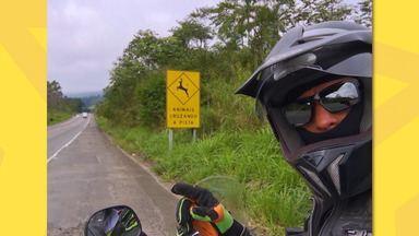 Sabe aquelas placas que sinalizam animais silvestres nas rodovias? Elas podem salvar vidas - Tiago viajou do Rio Grande do Sul até Ubatuba e percebeu a importância dessa sinalização para a preservação da nossa fauna.