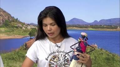 Mulheres Quilombolas de Horizonte fazem exposição de bordado - Saiba mais em g1.com.br/ce