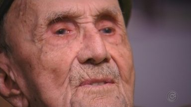 Ex-combatente das Forças Expedicionárias Brasileiras conta detalhes da 2ª Guerra Mundial - Um morador de Itapetininga (SP) foi ex-combatente das Forças Expedicionárias Brasileiras e conta detalhes da 2ª Guerra Mundial.
