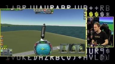 Tiago Leifert joga Kerbal Space Program - Confira o gameplay
