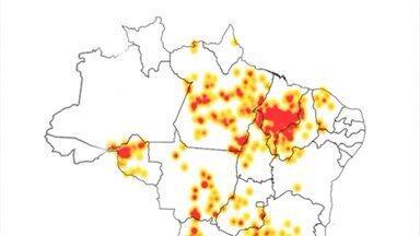 Tempo seco colabora com aumento de queimadas no Maranhão - Segundo o Instituto de Pesquisas Espaciais (INPE), o Maranhão já registrou mais de dois mil focos de queimadas em 2019.
