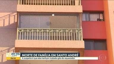 Família encontrada morta em Santo André será velada - Suspeita é que tenham morrido de asfixia por inalação de gás
