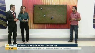 Comentário: Manaus FC e Iranduba são destaques com Silvio Lima - Gavião perde fora de casa na Série D e Iranduba empata na capital amazonense, pelo Brasileiro feminino.