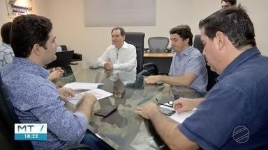 Empresários discutem projeto que muda incentivos fiscais em MT. - Empresários discutem projeto que muda incentivos fiscais em MT.