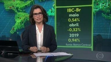 Depois de 4 quedas seguidas, IBC-Br sobe 0,54% em maio - No ano, índice do Banco Central acumula alta é de 0,94%