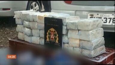 Dono de supermercado é preso em SP após a polícia achar cocaína em caixas de sabão em pó - A polícia de São Paulo prendeu o dono de um supermercado, da capital, depois que encontrou cocaína dentro de caixas de sabão em pó.