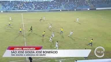 São José goleou o José Bonifácio no Martins Pereira - Jogo foi pela 4ª divisão do campeonato paulista.