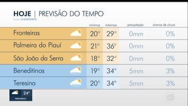 Previsão do tempo no Piauí - Previsão do tempo no Piauí