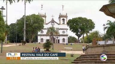 Festival Vale do Café começa nesta quinta-feira em diversas cidades do Sul do Rio - Evento leva música, oficinas, visitação a fazendas e shows gratuitos.