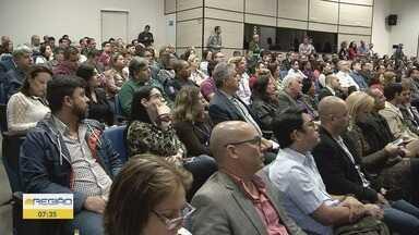 Governo anuncia investimento de mais de R$ 36 mi em hospitais da Baixada Santista - Secretário de Saúde do Estado fez o anúncio durante um encontro com prefeitos da Baixada Santista na quinta-feira (18).