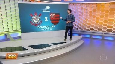 Corinthians se prepara para enfrentar o Flamengo pelo Brasileirão - Corinthians se prepara para enfrentar o Flamengo pelo Brasileirão