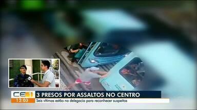 Flagrante de assalto dentro de ônibus - Saiba mais em g1.com.br/ce
