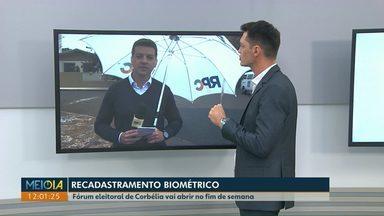 Fóruns eleitorais de Corbélia e Ubiratã farão plantão no fim de semana para a biometria - Dos 8 milhões de eleitores que têm no Paraná, 700 mil ainda não têm o cadastro biométrico.