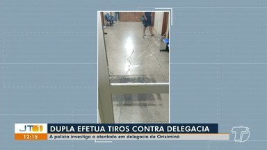Polícia investiga atentado à delegadia de Oriximiná - Caso aconteceu nesta sexta-feira (19).