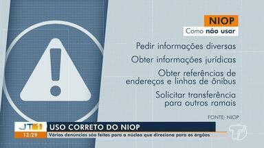 Ligações para o Niop prejudicam o andamento de ocorrências; número de trotes é grande - Pessoas têm realizado até ligações para conversar sobre assuntos pessoais.