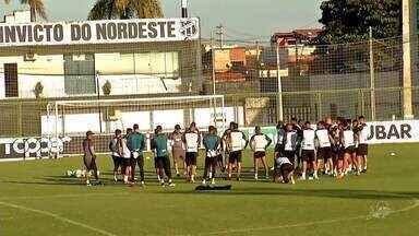 Ceará x Palmeiras: confira a preparação do Vovô para o duelo contra o Palmeiras - Acompanhe com Lucas Catrib