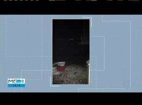 Incêndio destrói parte de uma casa em Governador Valadares - Polícia investiga se incêndio foi criminoso.