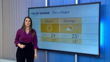 Temperaturas sobem neste sábado (20) e previsão é de tempo firme - Assista ao vídeo.