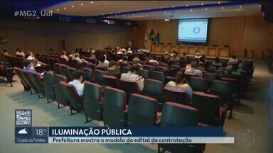 Prefeitura apresenta detalhes da licitação da iluminação pública de Uberlândia - Empresa vencedora fará a troca de 83 mil lâmpadas na cidade.