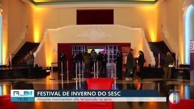 Festival de inverno começa a agitar Região Serrana nesta sexta-feira (19) - Cidades como Petrópolis e Nova Friburgo vão receber atrações do evento.