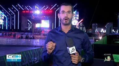 Gabriel Diniz recebe homenagem na Expocrato - Confira mais notícias em g1.globo.com/ce
