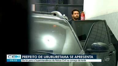 Médico e Prefeito afastado de Uruburetama se apresenta a polícia - Confira mais notícias em g1.globo.com/ce