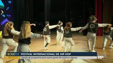 Festival Internacional de Hip Hop movimenta Curitiba no fim de semana - É uma boa opção de programa para quem gosta de música e dança.