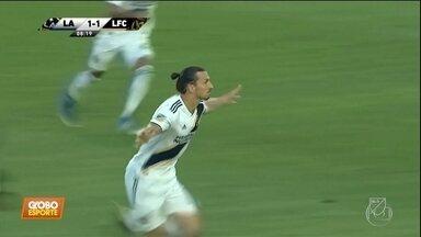 Provocado, Ibrahimovic responde com três gols no dérbi de Los Angeles - Provocado, Ibrahimovic responde com três gols no dérbi de Los Angeles