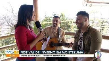 Sertanejo Murilo Huff é atração do Festival de Inverno em Montezuma - Evento está na sua 11ª edição e começa neste sábado.