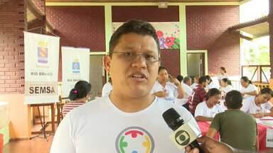 'Prefeitura na Comunidade' leva serviços de saúde à comunidade no bairro Tancredo Neves - Prefeitura na Comunidade leva serviços de saúde à comunidade no bairro Tancredo Neves