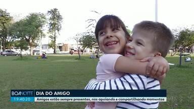 Telespectadores compartilham a alegra de uma boa amizade - Veja a homenagem no Dia do Amigo.