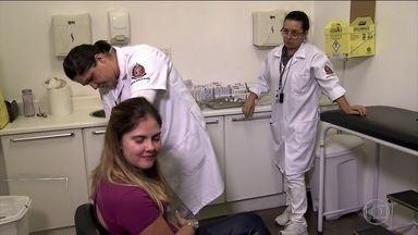 São Paulo intensifica campanha de vacinação contra o sarampo - Com 484 casos confirmados no estado, secretaria de Saúde da capital paulista ampliou a campanha na região metropolitana.