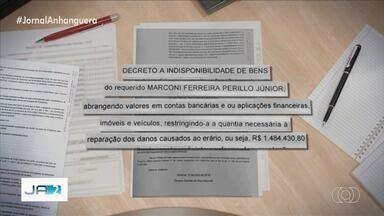 Marconi Perillo tem bens bloqueados em quase R$ 1,5 milhão em ação do MP - Ex-governador de Goiás foi denunciado pelo Ministério Público por supostas irregularidades na renúncia fiscal do IPVA para autoescolas.