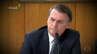 Bolsonaro quer acesso a dados sobre desmatamento antes da divulgação - Presidente vem criticando os dados do Instituto Nacional de Pesquisas Espaciais sobre a Amazônia. Diretor do Inpe confirmou as informações sobre desmatamento.