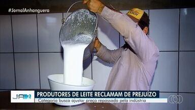 Produtores de leite de Goiás afirmaram que estão amargando prejuízos - Estado é o quarto maior estado produtor do país. Em reunião, na capital, eles disseram os motivos da crise: a importação do produto, da Argentina e do Uruguai, e também o baixo preço pago pela indústria.