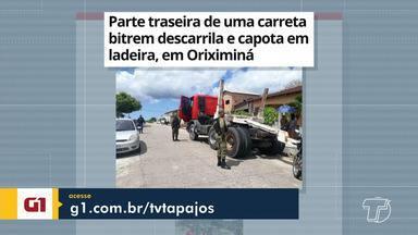 Descarrilhamento de bitrem em Oriximiná é destaque no G1 Santarém e região - Confira esta e outras notícias acessando o portal.
