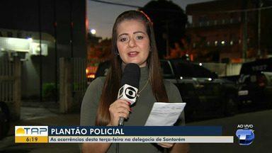 'Giro Policial': veja as ocorrências registradas na delegacia no plantão em Santarém - Casos foram registrados na 16ª Seccional de Polícia Civil. Confira as principais notícias da área policial desta terça-feira (23).
