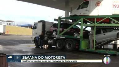 Dia de São Cristovão é comemorado na quinta-feira (25) - Semana vai ser de programação especial em Montes Claros a caminhoneiros e motoristas.