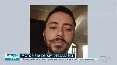 Motorista de aplicativo desaparece após fazer corrida na Serra, ES - Família prestou queixa na polícia e, desde então, faz buscas pelo homem.