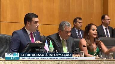 Cumprimento da Lei de Acesso à Informação pela Assembleia Legislativa é questionado no ES - Deputados não responderam sobre quais as atividades prestadas por assessores externos.