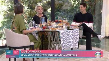 Programa de 24/07/2019 - Ana Maria Braga apresenta o programa de hoje com dois convidados especiais: Reynaldo Gianecchini e Aghata Moreira, além de uma recita de 'Picolé de Maracujá de Forno'.