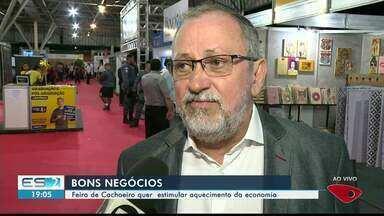 Feira de Negócios e Agroturismo estimula aquecimento da economia em Cachoeiro, ES - Evento acontece no Parque de Exposições o Aeroporto.