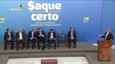 Governo espera injetar na economia R$ 42 bilhões com saque do FGTS - Jornal da Globo detalha as regras para quem quiser usar o dinheiro do FGTS e do PIS-Pasep.