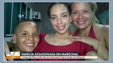 Morre menino sobrevivente de ataque a uma família em casa em Marechal Hermes - Wictor Aleida, de sete anos, morreu na noite de quarta (24) no Hospital Pedro II. No ataque, também morreram a mãe dele, Luciana Almeida da Silva e a irmã, Lindsay, de 15 anos.
