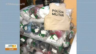 Dois suspeitos de furtarem transportadora em Araguaína são presos - Dois suspeitos de furtarem transportadora em Araguaína são presos