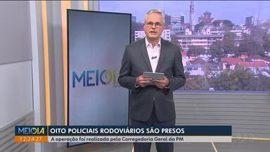 Oito policiais rodoviários são presos por suspeita de corrupção no litoral - Os policiais presos trabalhavam nos postos da PRE em Paranaguá, Coroados e Guaratuba.
